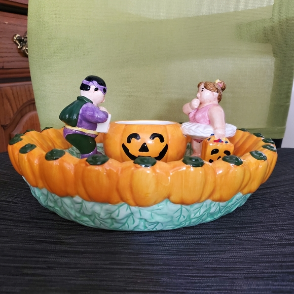 None Other - Ceramic Halloween candy dish.